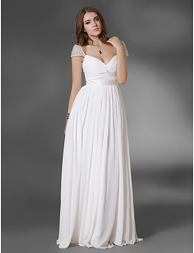 Chiffon A-line Floor-length Evening/Prom Dress - USD $ 149.99