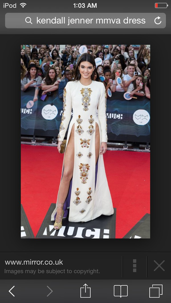 white dress kendall jenner prom dress dress