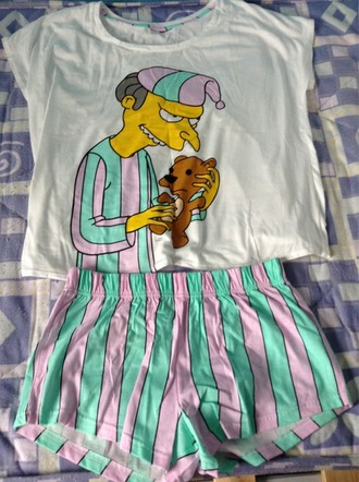 pajamas grunge pjamas strips