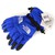 North Face Waterproof Gloves Blue
