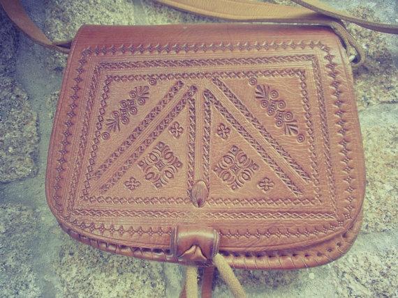 Coach ladybug boxy tote bag burlap leather applique l k