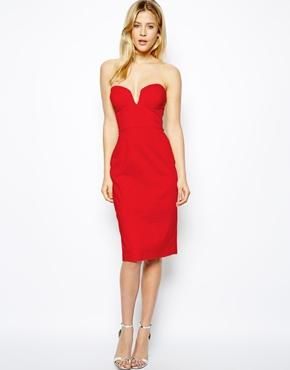ASOS | ASOS Midi Strapless Dress at ASOS
