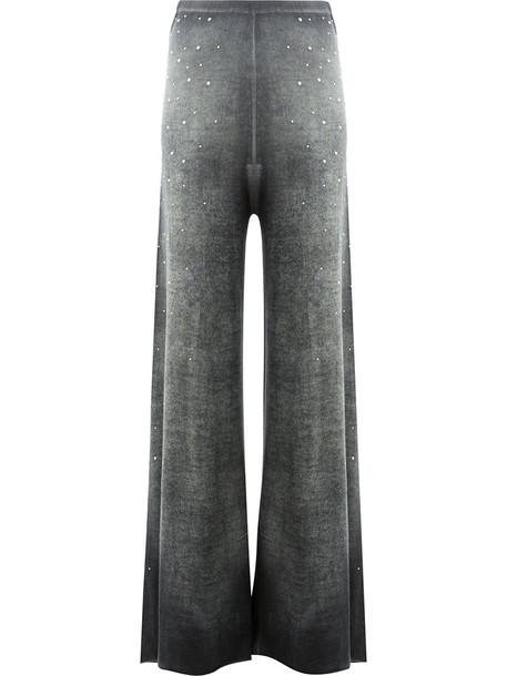 AVANT TOI women silk grey pants
