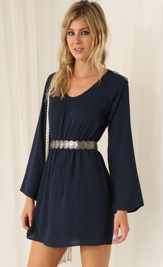 belt dress belt pretty cool silver silver belt waist belt awesomness navy iwantthissobad