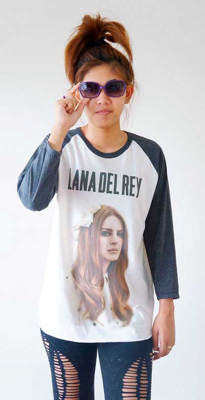 S m l  lana del rey shirts alternative rock shirts by cottonclick