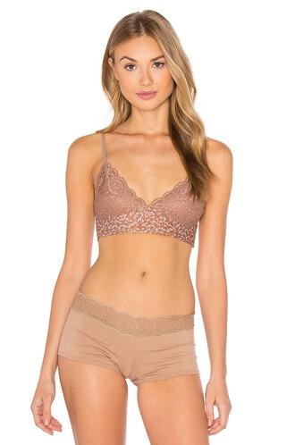 bra soft tan underwear