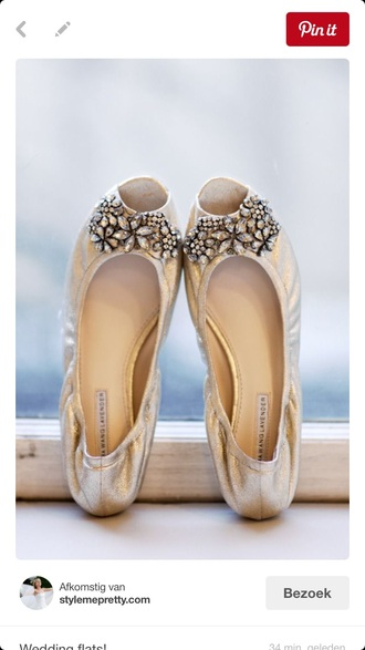 shoes ivory silver bridal flat