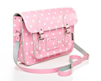 bag pink polka dots kawaii pastel