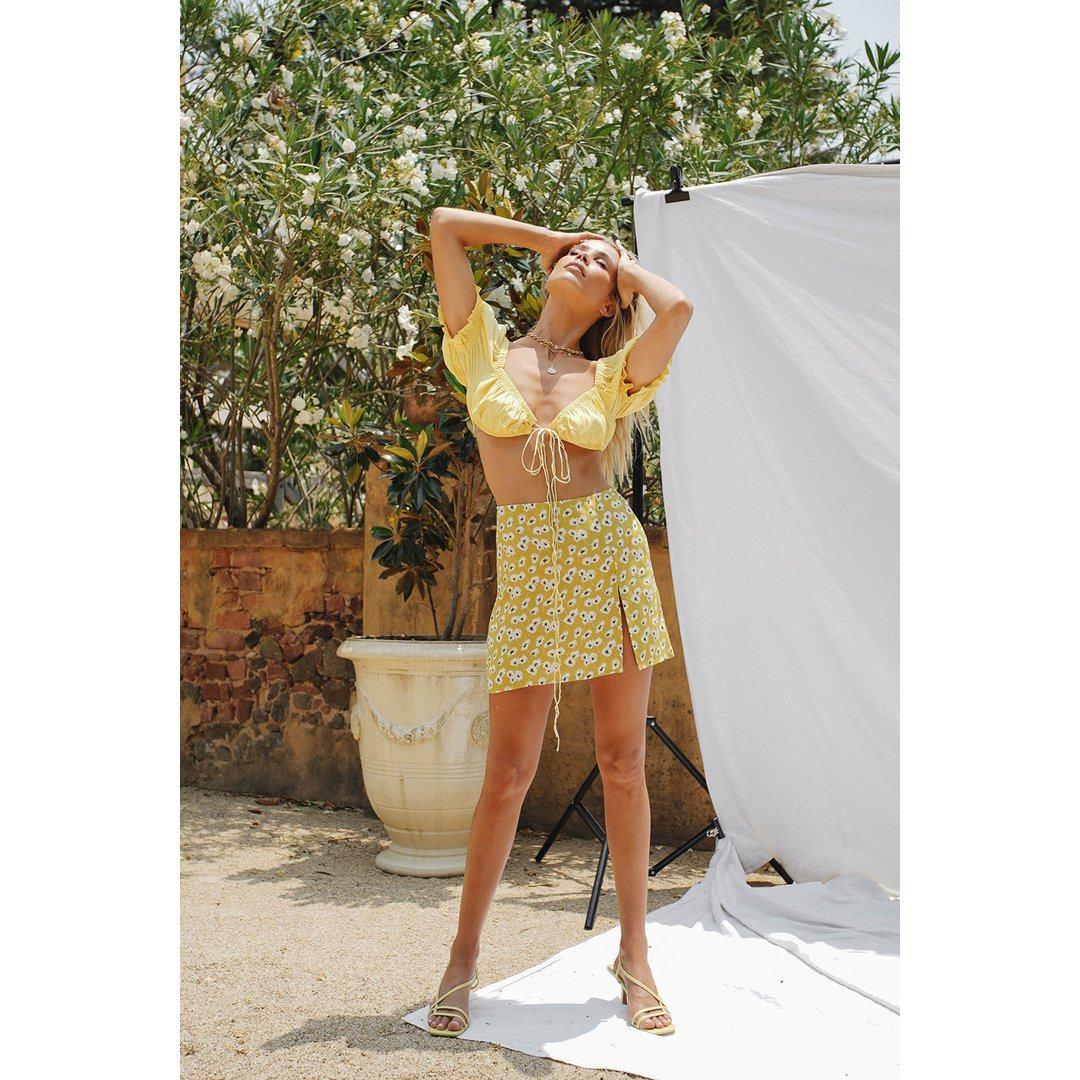 VG Summer 98' Mini Skirt // Floral