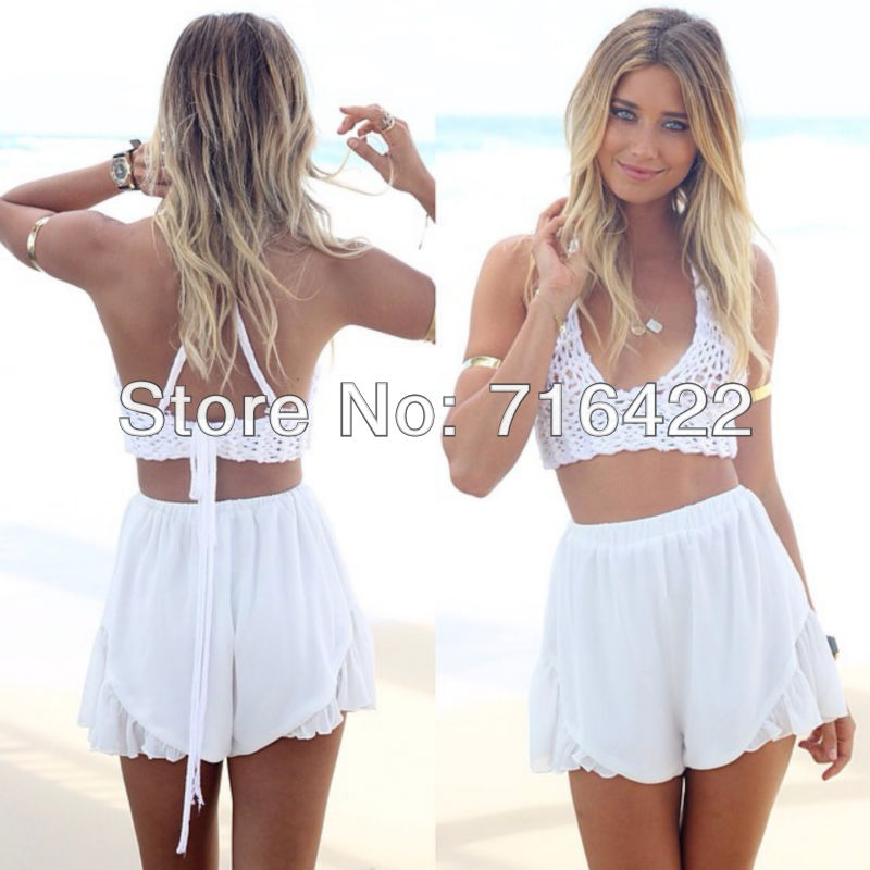 Free shipping Spring 2014 fashion women high waist shorts skirt plus size female casual feminino shorts-in Shorts from Apparel & Accessories on Aliexpress.com