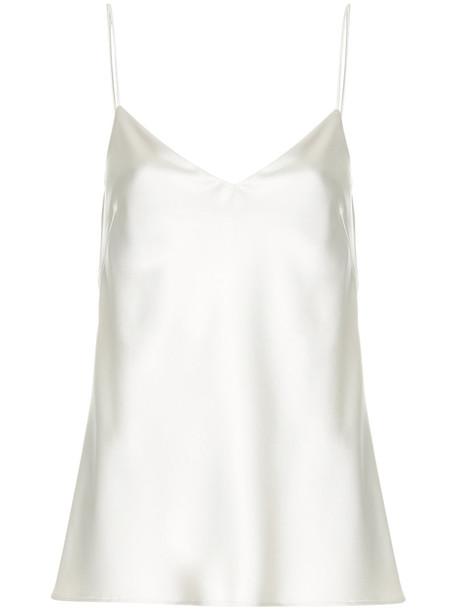 Galvan camisole women white underwear