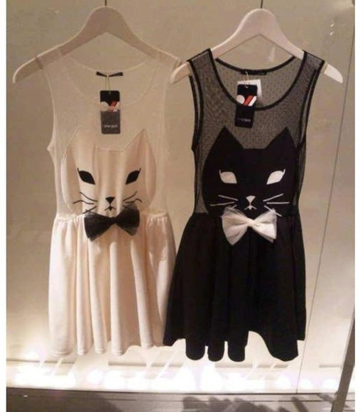 cat eye dress clothes