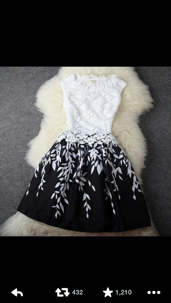 dress short dress pinterest dressy dresses casual dress flowers black white dress lace dress short dress white hat