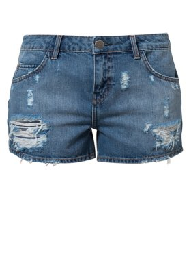 Gestuz PALIN - Jeans Shorts - denim blue - Zalando.de