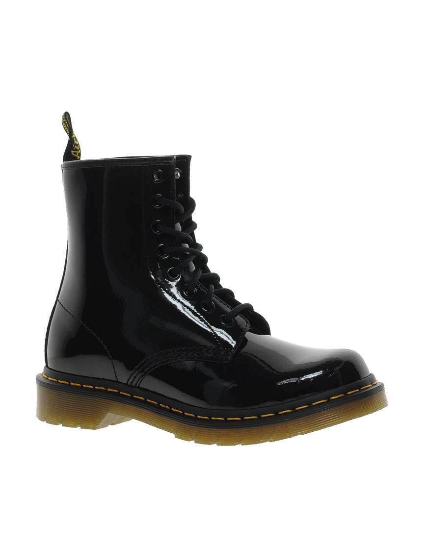 Dr Martens Modern Classics 1460 Patent 8-Eye Boots at asos.com