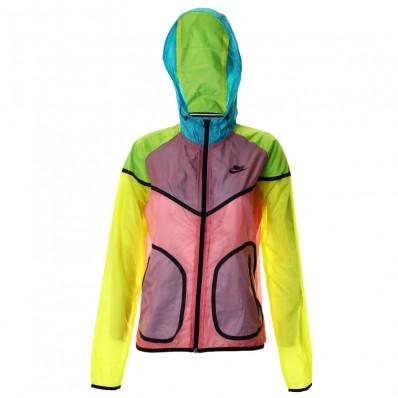 Multicoloured nike jacket