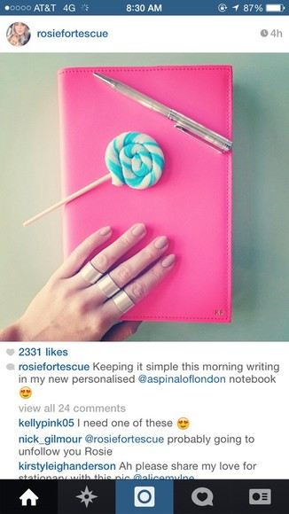ring nail accessories rosie fortescue