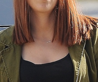 jewels necklace scarlett johansson black widow arrow captain america silver