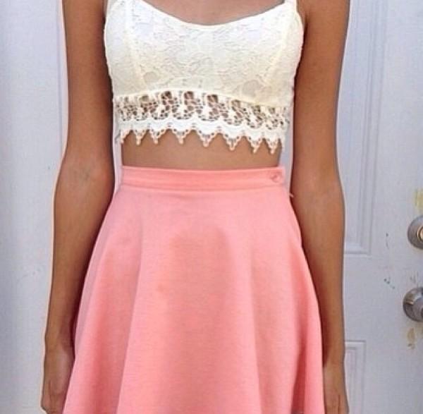 shirt ariana grande skirt