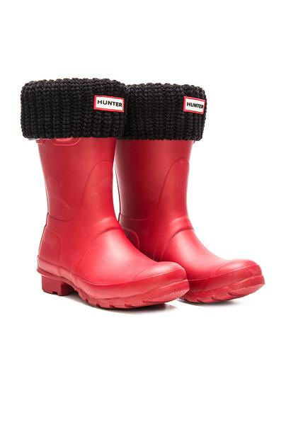 Hunter boot short black