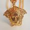 Exclusive medusa face necklace-gold – glamzelle
