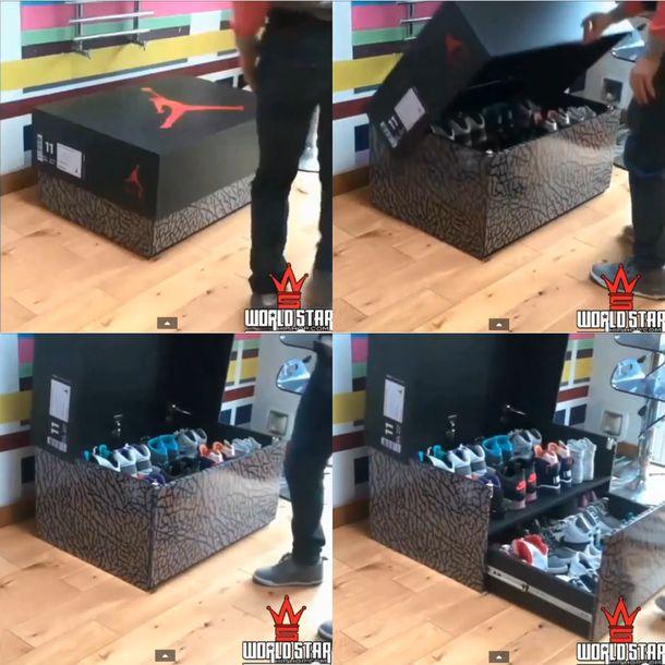 Jordan Shoe Box Shoe Holder
