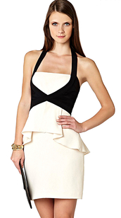 dress,dream it wear it,colorblock,colorblock dress,halter neck,halter dress,peplum,peplum dress,black and white,black and white dress,bandage,bandage dress,bodycon,bodycon dress,contrast dress,party,party dress,sexy party dresses,sexy,sexy dress,party outfits,summer,summer dress,summer outfits,spring,spring dress,spring outfits,fall outfits,fall dress,winter outfits,winter dress,classy,classy dress,elegant,elegant dress,cocktail,cocktail dress,girly,date outfit,birthday dress,holiday dress