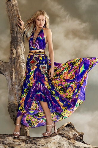 dress luxury parides purple maxi dress bikiniluxe