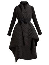 coat,quilted,black