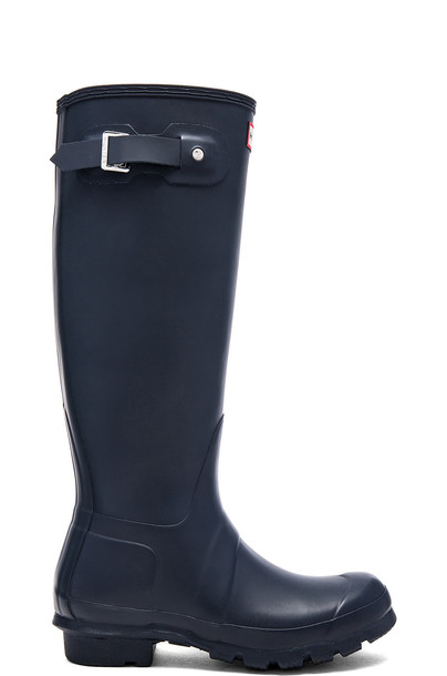 Hunter boot navy