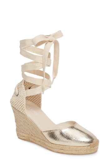 b92db08d8 Soludos Wedge Lace-Up Espadrille Sandal (Women) | Nordstrom