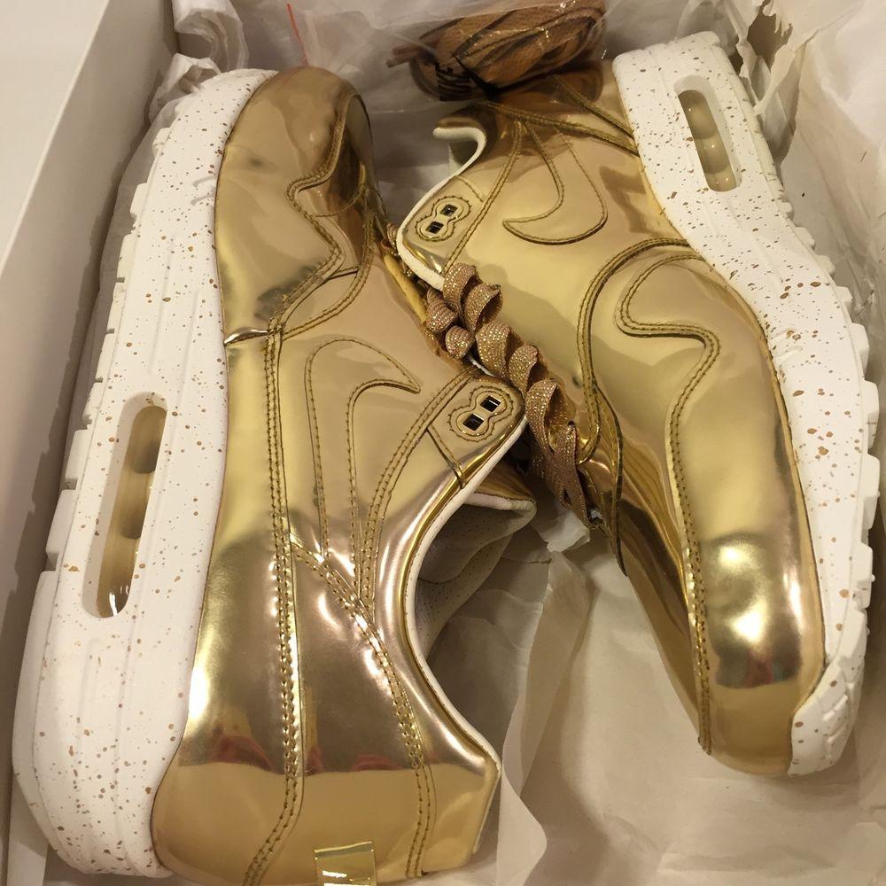 save off 250cd a2494 Nike Air Max 1 SP I Liquid Gold Metal Sz 12 New Ds Element Nikelab Qs ...