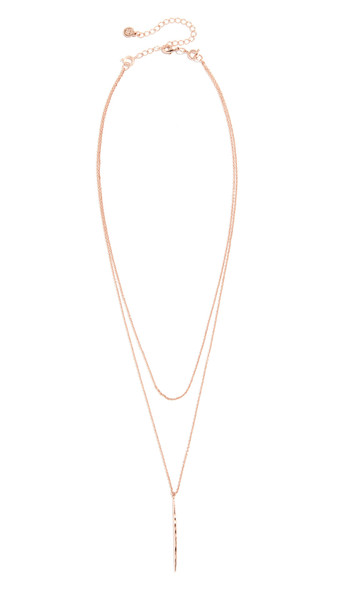 Gorjana Nora Layer Set Necklace in gold / yellow