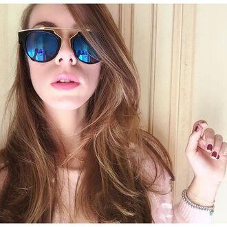 sunglasses bikini luxe blue blue mirrored mirrored sunglasses gold black black frame black frame sunglasses black and blue