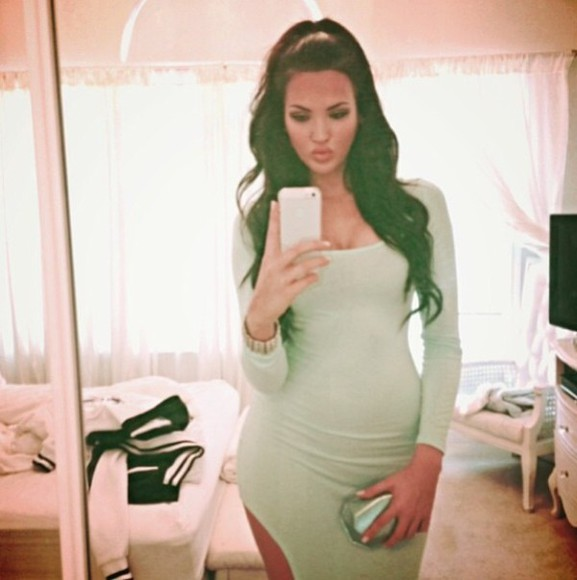 dress mint green dress natalie halcro mint green