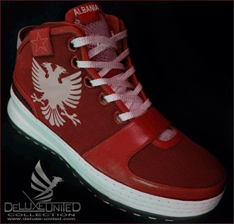 shoes trainers red cool trendy mens shoes menswear women girls sneakers running turquoise sneakers spor albanian cultured cultural national flag national leauge flag black white eagle claw fashion gangsta perfecto perfect acessories