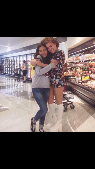high heels lace up ankle white creeper mahogany lox
