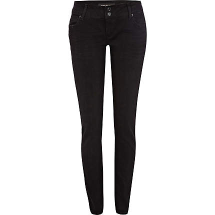 Add something new to your wardrobe with one of these black distressed jeans. Invest in this season's most wearable trend. See new perfect-fitting boot-cut, flare, and destroyed jeans from denim designers like Donna Karan New York, Maternity jeans, Vince jeans, .