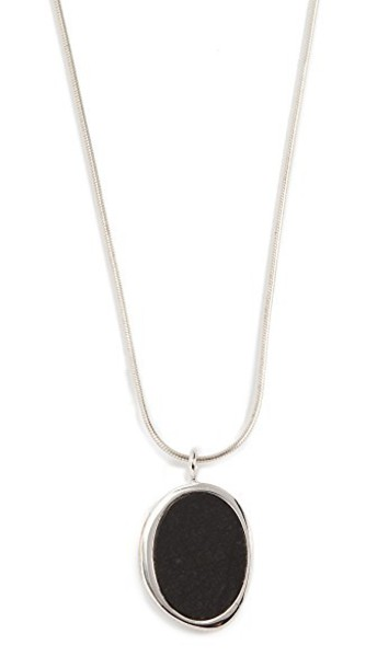 Contempoh stone necklace necklace silver jewels