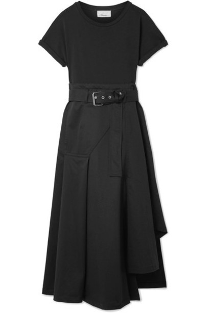 3.1 Phillip Lim dress midi dress midi cotton black