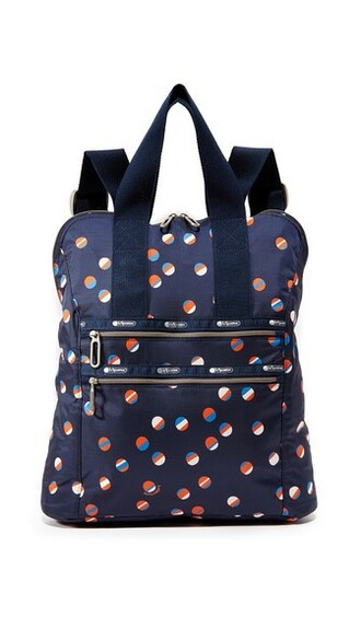 beach ball backpack navy bag
