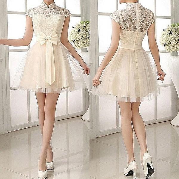 Dress White Dress Fashion Girly Dress Style Summer