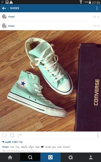 shoes converse mint