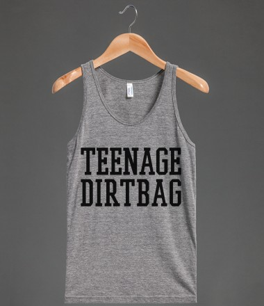 Teenage Dirtbag Tank Top (Black Art) - LoveDirection - Skreened T-shirts, Organic Shirts, Hoodies, Kids Tees, Baby One-Pieces and Tote Bags Custom T-Shirts, Organic Shirts, Hoodies, Novelty Gifts, Kids Apparel, Baby One-Pieces | Skreened - Ethical Custom Apparel