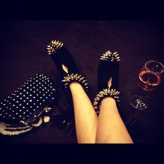 shoes high heels vanessa du basso studded