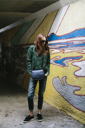 could i have that,blogger,sweater,bag,jeans,sunglasses,shoes,jewels
