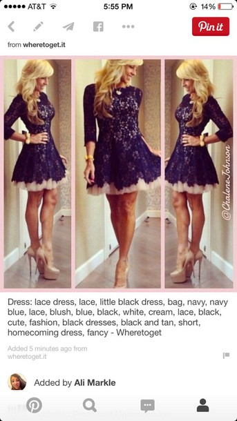 dress short dress blue dress lace dress