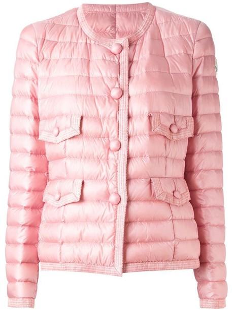 moncler jacket purple pink