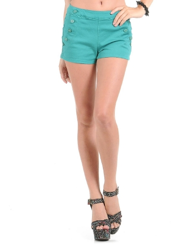 Spring Fling High Waist Dress Shorts | $10.50 | Cheap Trendy Shorts Chic Discount Fashion for Women