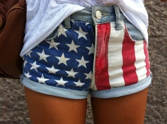 red white and blue shorts american flag american flag shorts